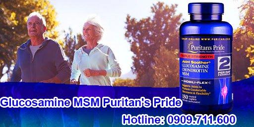 Glucosamine puritan's pride 120 viên - thực phẩm chức năng hỗ trợ xương khớp nổi tiếng của Mỹ