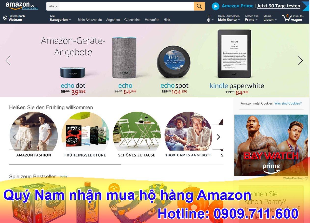 Amazon là web thương mại lớn nhất thị trường Mỹ