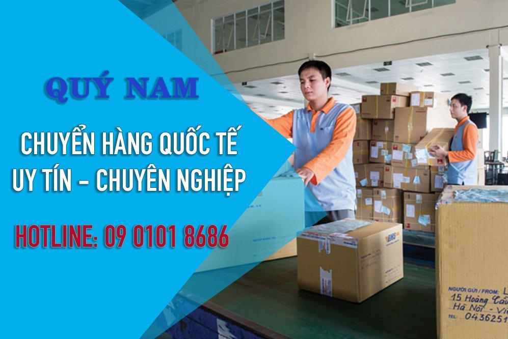Quý Nam - đơn vị chuyên gửi hàng quốc tế uy tín