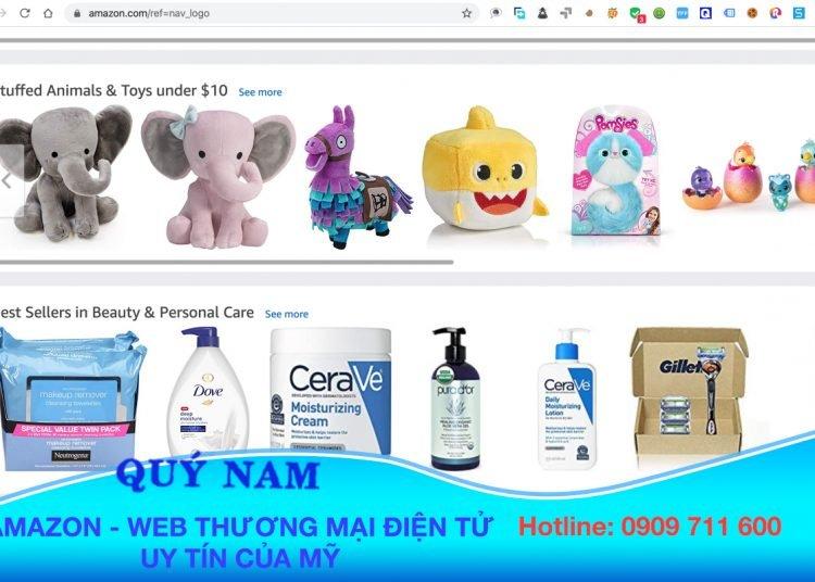 Mua hộ hàng Amazon Mỹ về Việt Nam