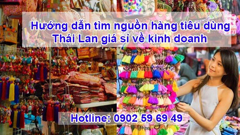 Kinh doanh hàng Thái Lan đang là miếng mồi béo bở được nhiều người khai thác