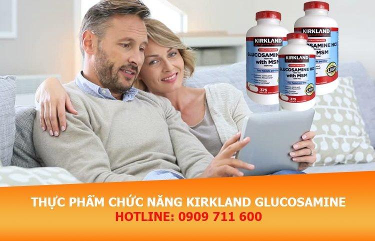 Thực phẩm chức năng dạng viên Kirkland Glucosamine giúp giảm đau nhức xương khớp