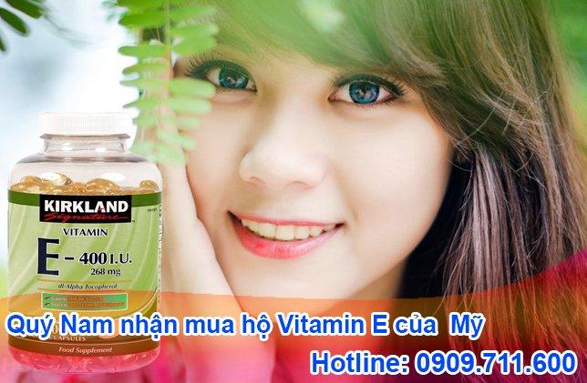 Quý Nam - chuyên order vitamin E Mỹ và ship về Việt Nam