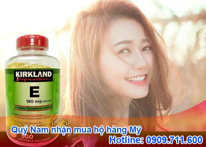 Viên uống vitamin Kirkland của Mỹ