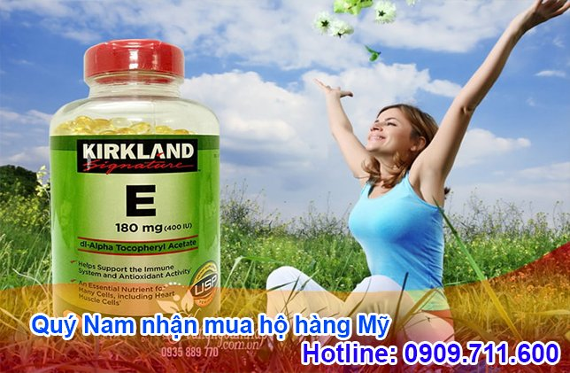 Các sản phẩm vitamin E của Mỹ đều được đánh giá cao về tiêu chuẩn chất lượng