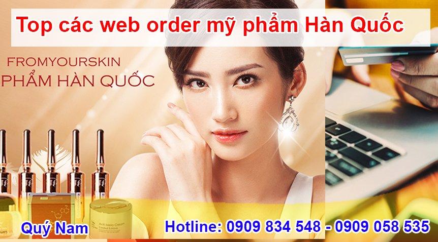 Mỹ phẩm Hàn Quốc rất được giới trẻ Việt Nam tin dùng
