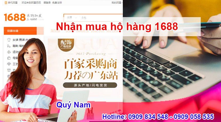 Nếu bạn gặp khó khăn khi mua sắm với 1688 tiếng Việt thì có thể nhờ đến dịch vụ của Quý Nam nhé!