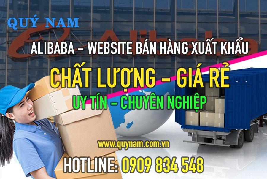 Alibaba là một trong những website chuyên bán hàng xuất khẩu chất lượng, giá thành rẻ
