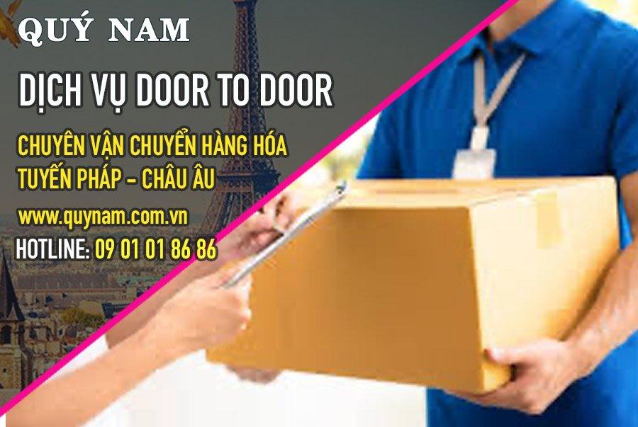 Quý Nam có dịch vụ door to door tại Pháp