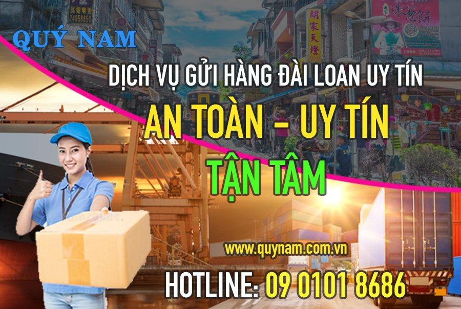 dịch vụ gửi hàng đài loan uy tín