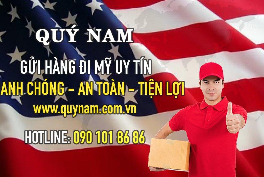Gửi hàng đi Mỹ dễ dàng cùng Quý Nam