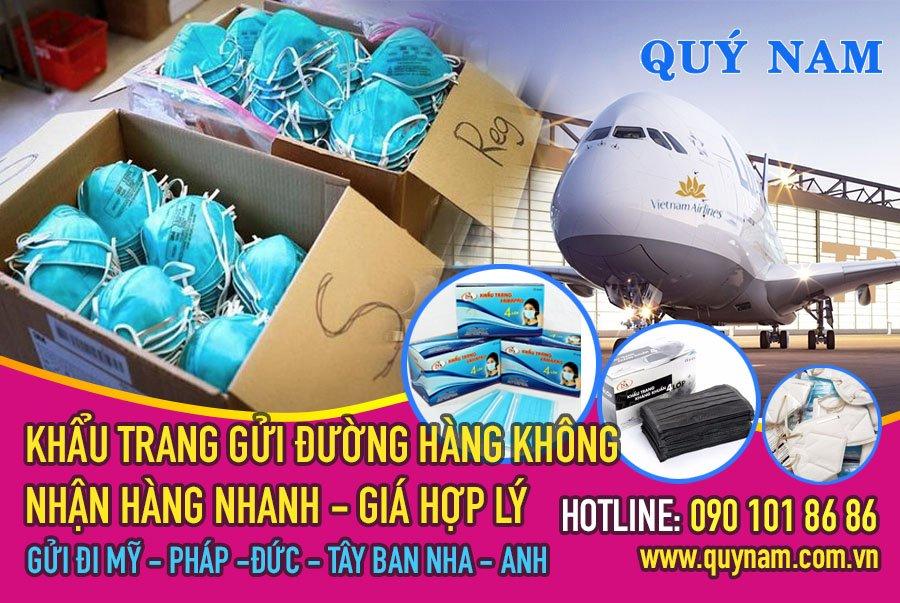 Gửi hàng đi nước ngoài theo đường hàng không nên thời gian nhận hàng nhanh