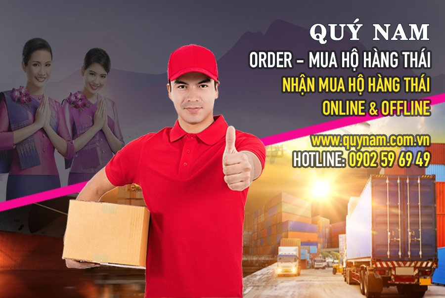 Quý Nam nhận mua hộ hàng Thái Online và offline