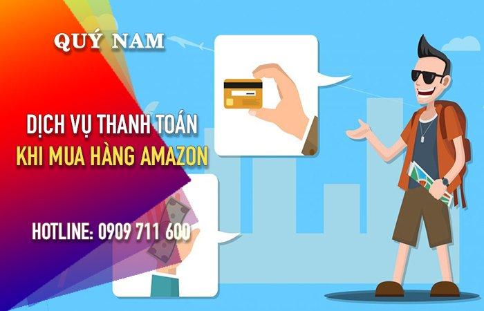 Thanh toán hộ trên Amazon