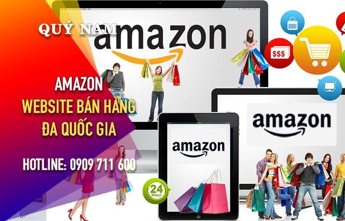 Amazon bán hàng da quốc gia Mỹ, Anh, Pháp...