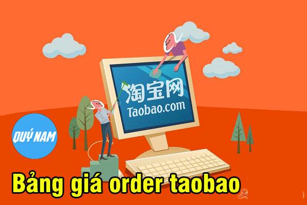 nhận order hàng taobao