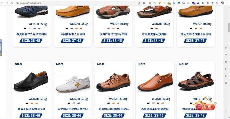 nguồn giày dép quảng châu