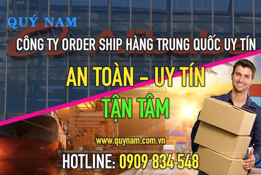 Quý Nam nhận order ship hàng hóa đa dạng từ Trung Quốc về Việt Nam an toàn