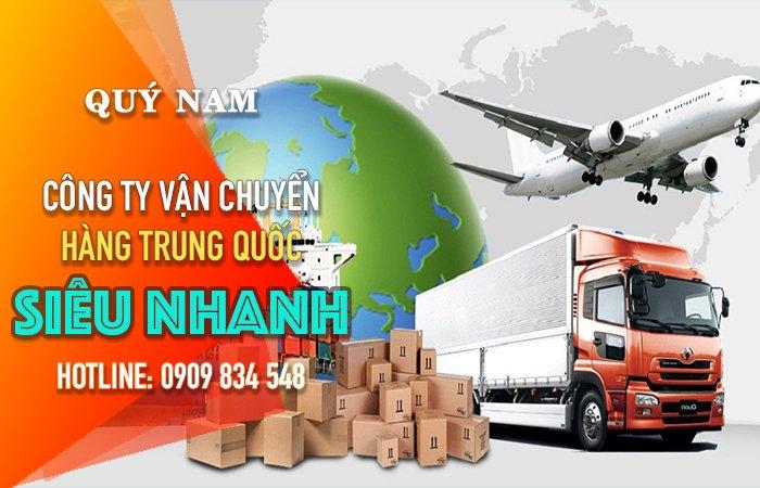 Quý Nam là đơn vị chuyển hàng chuyên tuyến Trung Quốc - Việt Nam