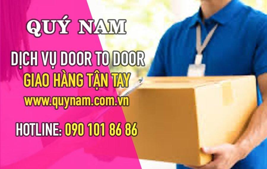 Quý Nam có dịch vụ door to door, giao hàng tận tay cho khách tại Mỹ
