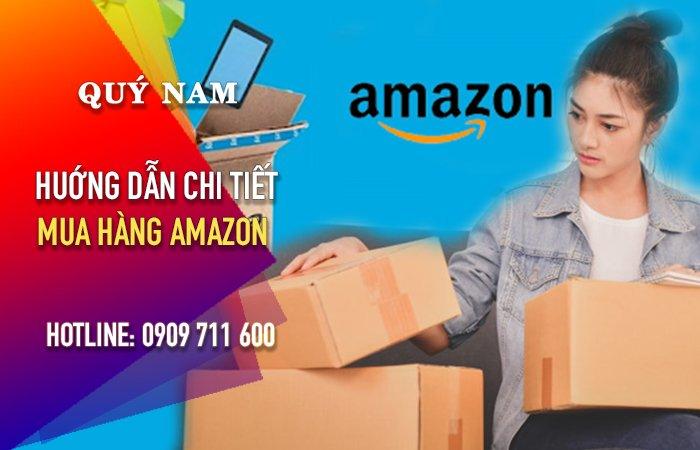 Cách mua hàng trên Amazon ship về Việt Nam