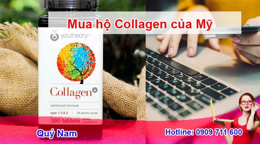 Quý Nam - chuyên order Collagen trên web thương mại điện tử Mỹ