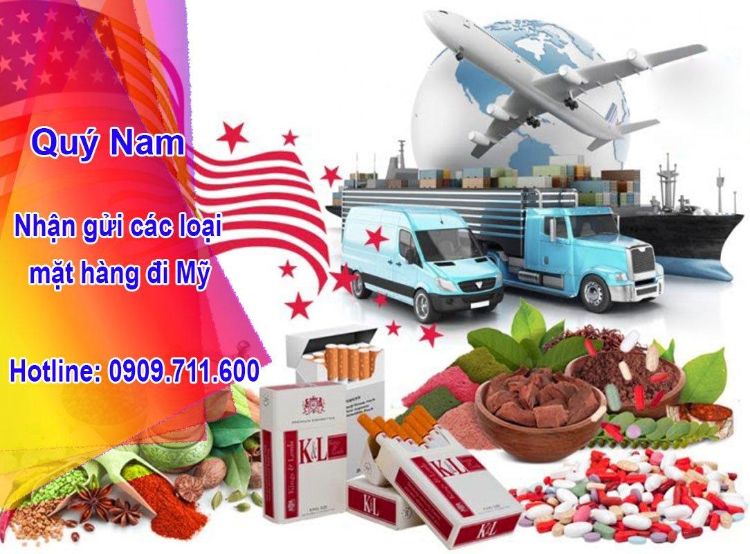 Dịch vụ nhập hàng Mỹ giá cả cực tốt tại Quý Nam