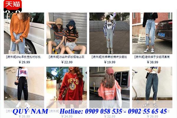 Đa dạng phong cách cùng nguồn hàng Quảng Châu trên Taobao