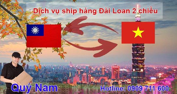 Vận chuyển hàng order Đài Loan nhanh chóng với Quý Nam