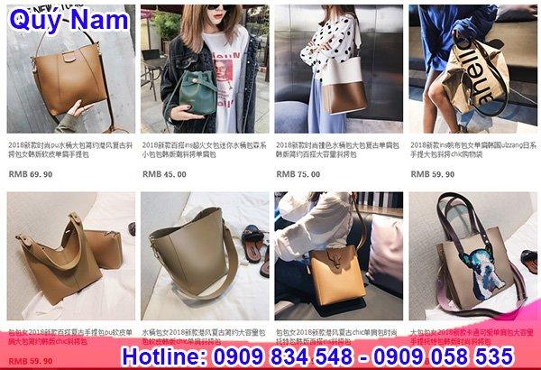 Nguồn hàng túi xách Quảng Châu trên Taobao