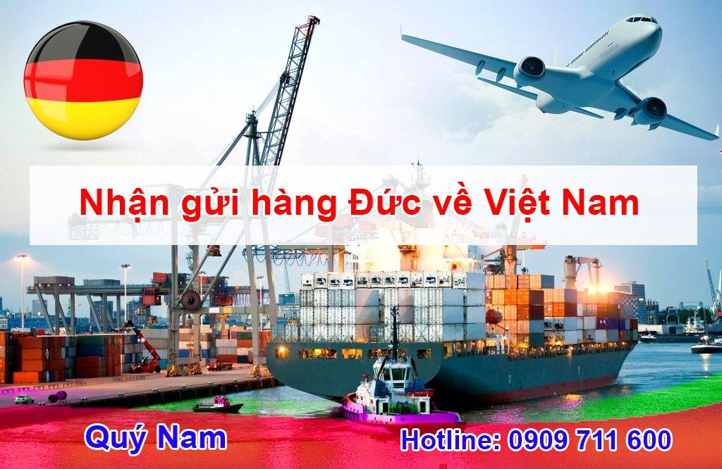 Quý Nam chuyển hàng Đức về việt Nam an toàn uy tín, giá rẻ
