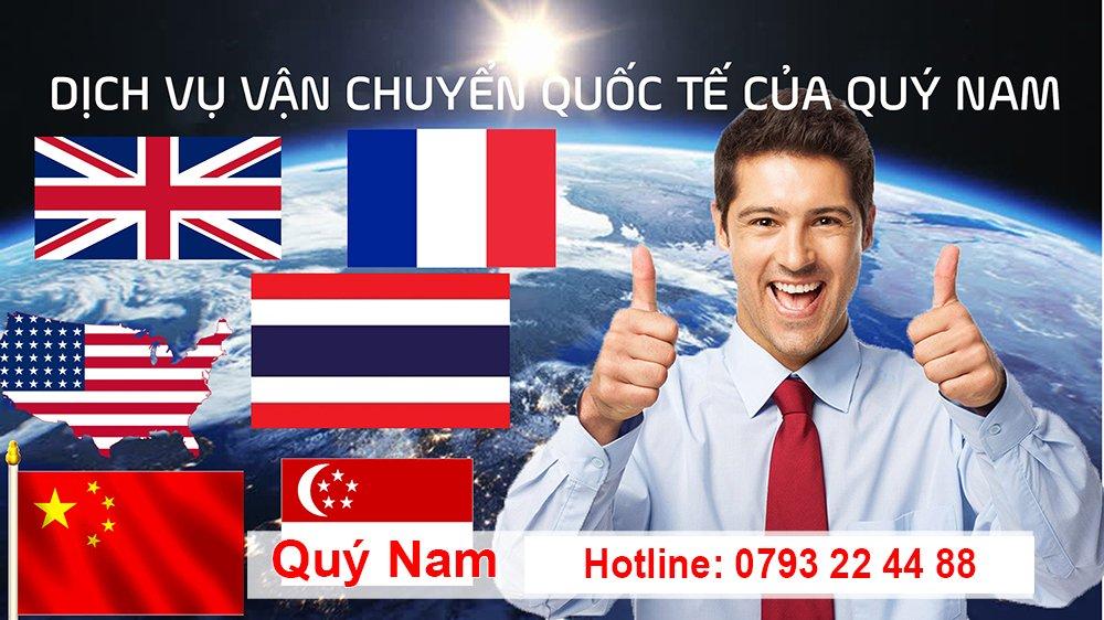 Quý Nam - sự lựa chọn hàng đầu cho dịch vụ gửi hàng đi nước ngoài