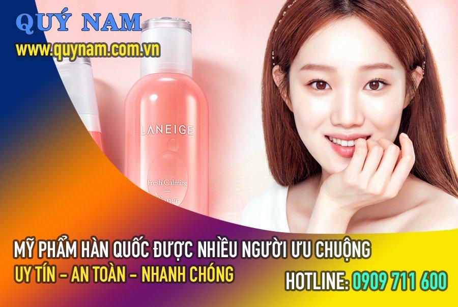 Mỹ phẩm Hàn Quốc được người Việt ưa chuộng