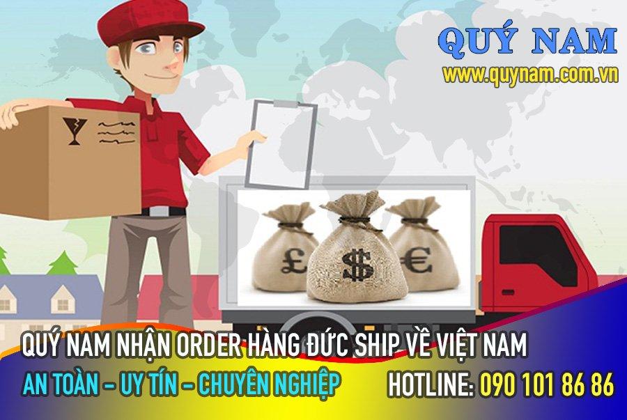 Quý Nam nhận order ship hàng Đức về Việt Nam an toàn