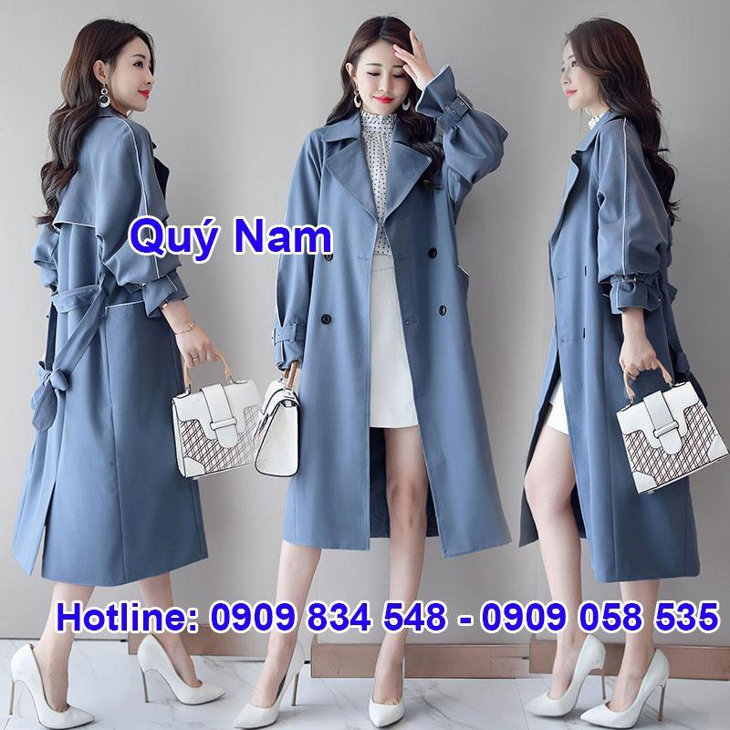Mẫu áo dạ Quảng Châu được phái nữ ưa chuộng bởi thời trang, chất lượng