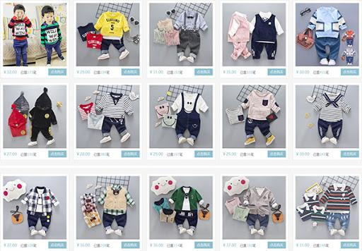 quần áo trẻ em quảng châu giá sỉ
