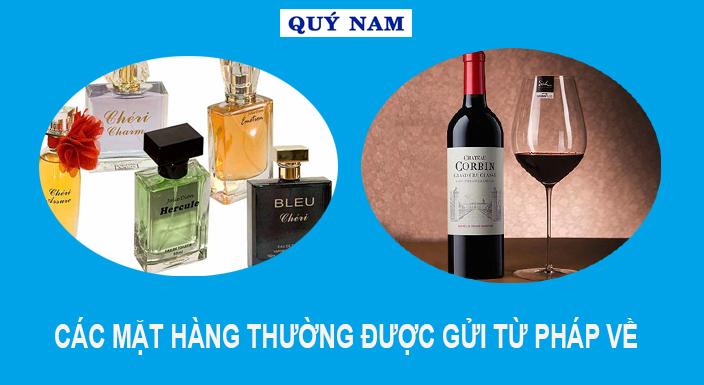 chuyển hàng từ pháp về Việt Nam