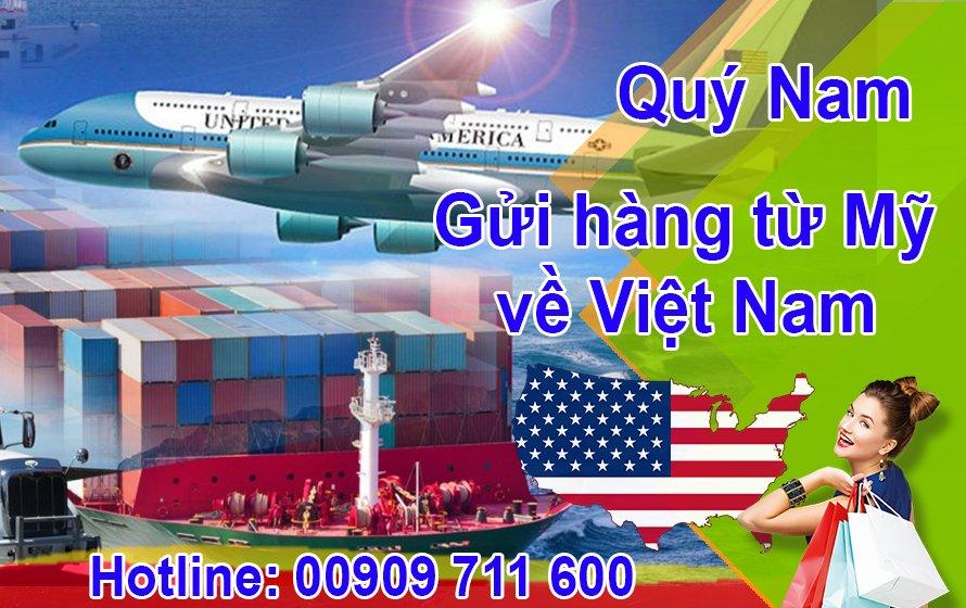 Cùng Quý Nam - dễ dàng mua hàng Mỹ