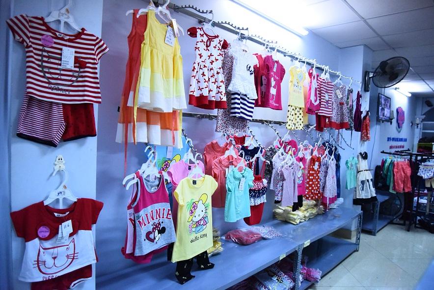 kinh doanh quần áo trẻ em