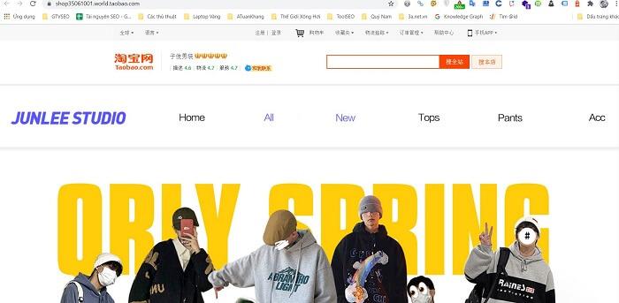 mua hàng độc trên Taobao