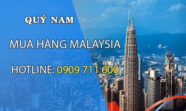 Quý Nam- chuyên order hàng Malaysia giá gốc rẻ