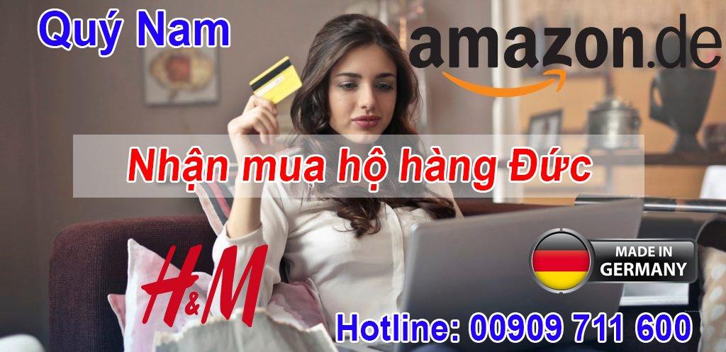 Quý Nam là đơn vị trung gian nhận mua hộ hàng Đức vận chuyển về Việt Nam uy tín