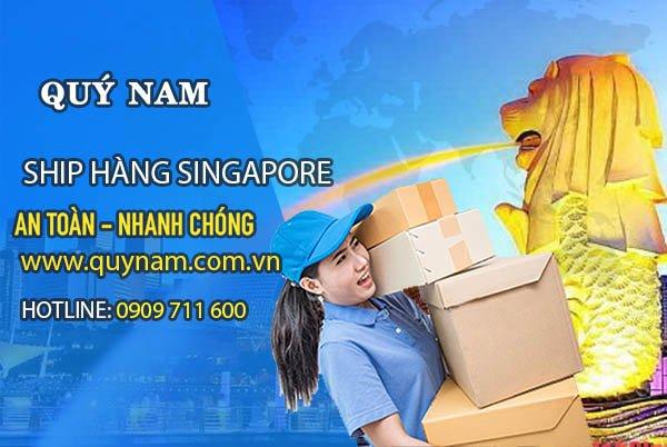 Nhận ship hàng Singapore