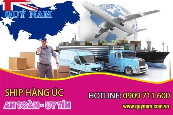 Nhận ship hàng Úc