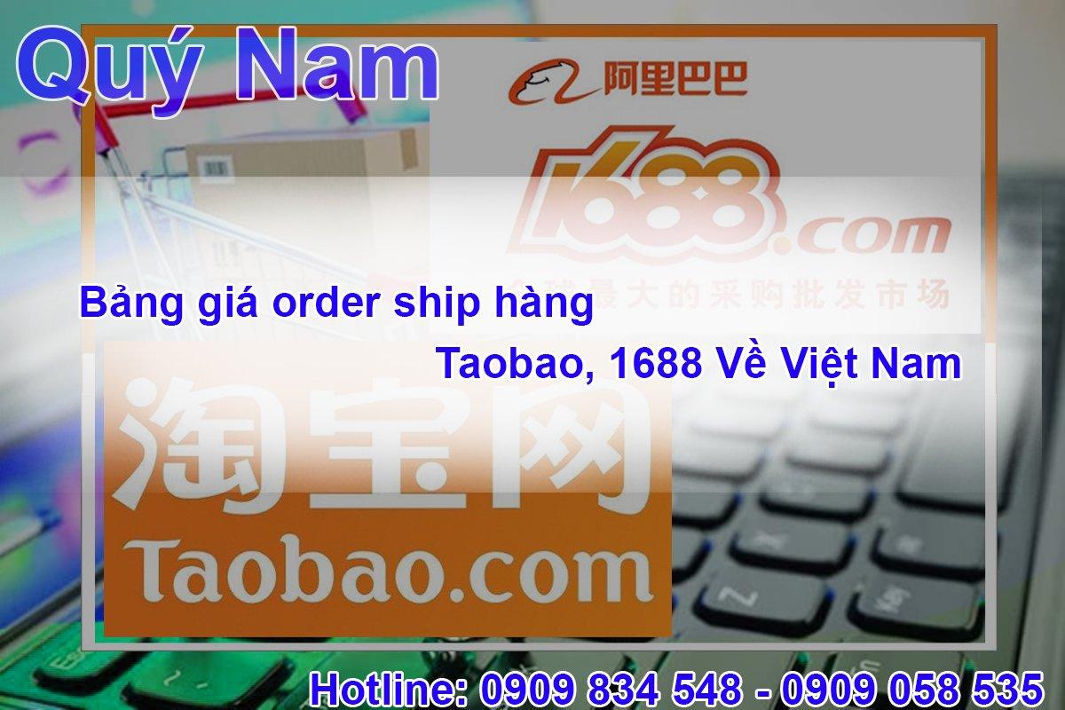 Bảng giá order ship hàng Trung Quốc về Việt Nam tại Quý Nam được đánh giá là cạnh tranh nhất thị trường