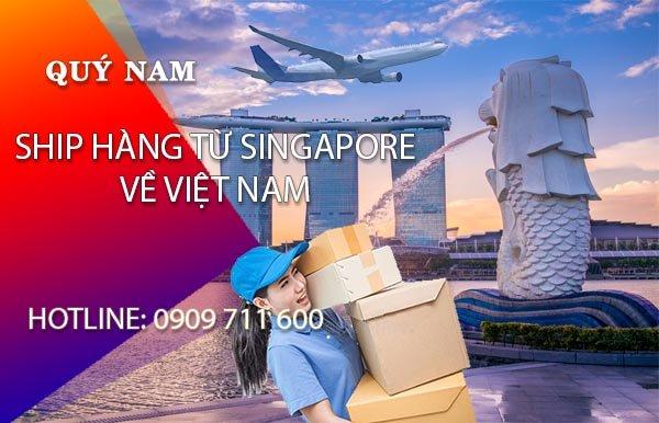 Ship hàng Singapore về Việt Nam