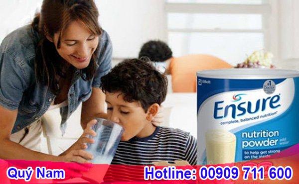 Hãy tự order sữa Ensure Mỹ xách tay cho gia đình để yên tâm về chất lượng