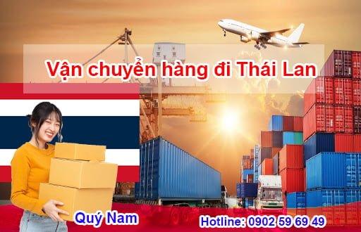 Vận chuyển hàng đi Thái Lan dễ dàng cùng Quý Nam