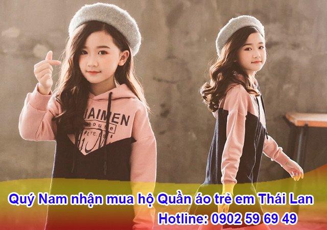 Quý Nam nhận mua hộ quần áo trẻ em Thai Lan an toàn uy tín