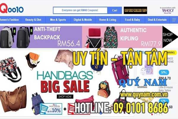 Qoo10 - trang thương mại uy tín được liên kết với Ebay